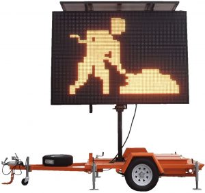 Traffic signalling batteries