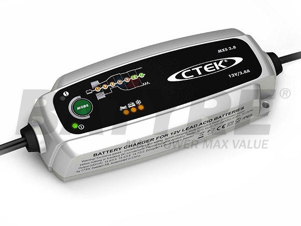 C-TEK CHARGER 12V MULTI XS3.8 (MXS 3.8)