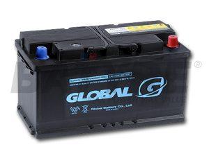 GLOBAL SMF Marine 95Ah Deep-Cycle Dual-Post Battery