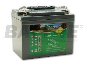 HAZE HZY-EV12-44 12V 44Ah GEL Cyclic Battery