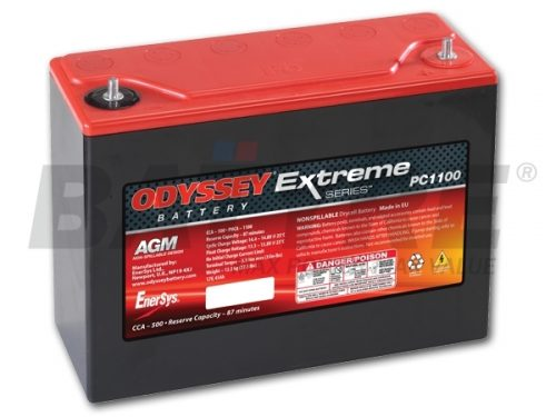 ODYSSEY PC1100 12V 45Ah AGM Racing Battery