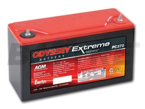 ODYSSEY PC370 12V 15Ah AGM Racing Battery