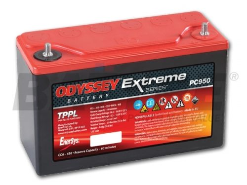 ODYSSEY PC950 12V 34Ah AGM Racing Battery