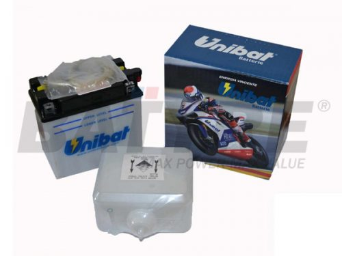 UNIBAT C50-N18L-A 12V 20Ah FLA Motorcycle Battery
