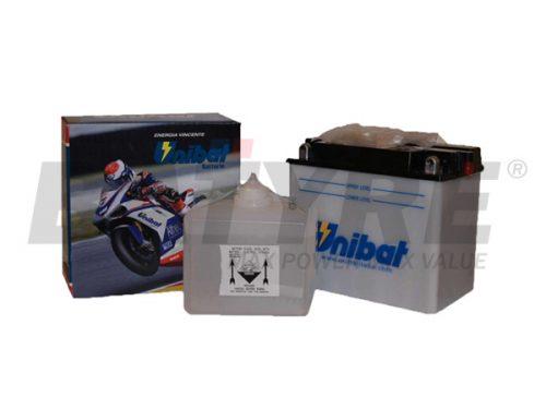 UNIBAT CB12AL-A2 12V 12Ah FLA Motorcycle Battery