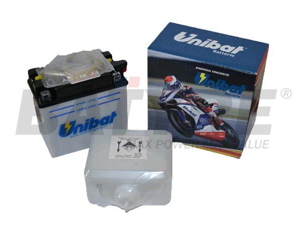 UNIBAT CB16CL-B 12V 19Ah FLA Motorcycle Battery