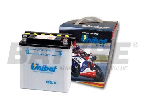UNIBAT CB5L-B 12V 5Ah FLA Motorcycle Battery