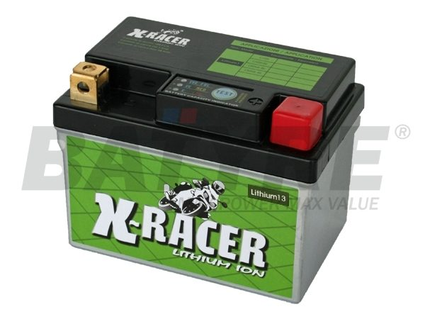 UNIBAT X-RACER LITHIUM-13 12V 24Ah Battery