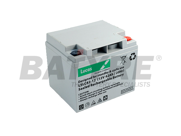 Lucas 12v 42 ah SLA Deep Cycle Mobility Battery