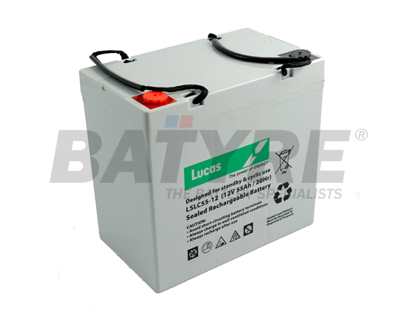 Lucas 12v 55 ah SLA Deep Cycle Mobility Battery