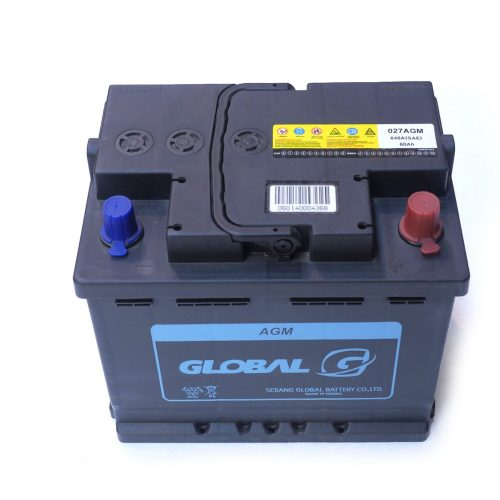 027 AGM global car battery
