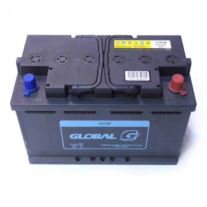 GLOBAL 115 910A AGM Start-Stop Starter Battery