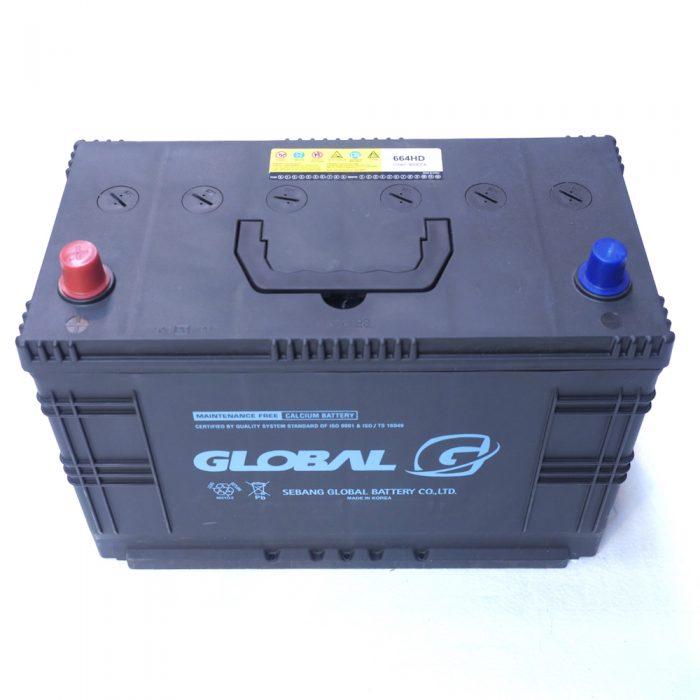 GLOBAL 664HD 105Ah 720A Starter Battery