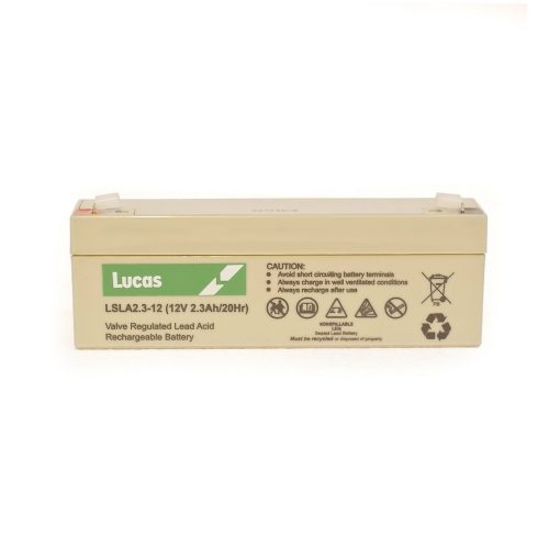 LSLA2.3-12 Lucas Battery