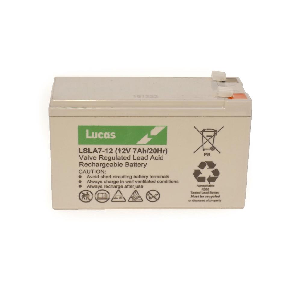 LSLA7-12 Lucas battery
