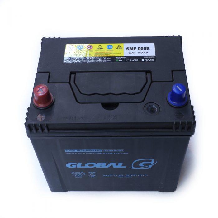 GLOBAL 005R 60Ah 820A Starter Battery