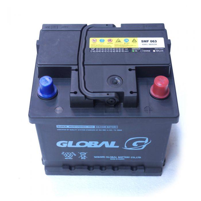 GLOBAL 063 40Ah 320A Starter Battery