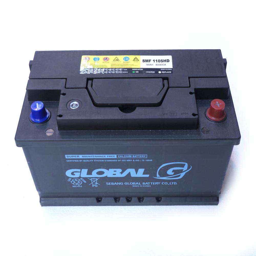 GLOBAL SMF 110SHD 95Ah Starter Battery - Car Batteries Online