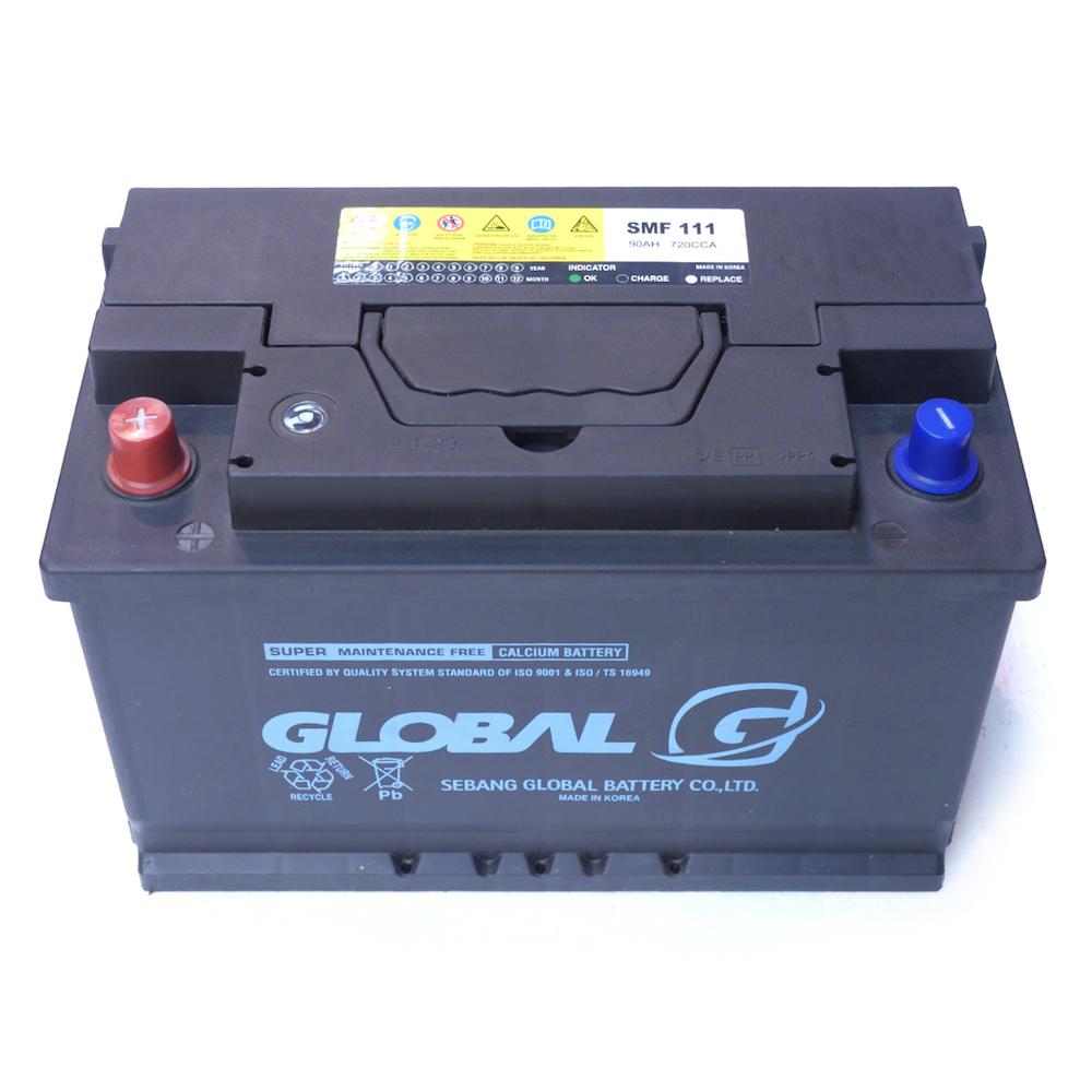 GLOBAL SMF 110SHD 95Ah Starter Battery - Car Batteries Online