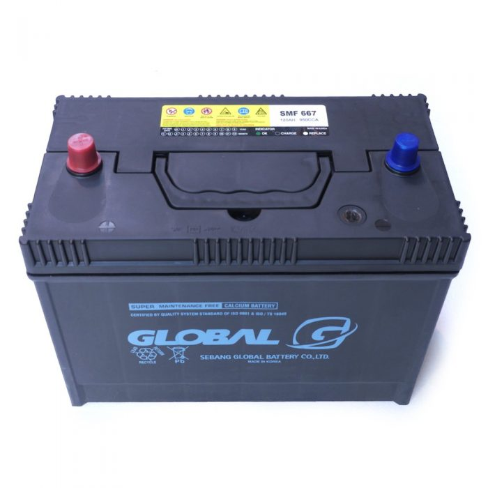 GLOBAL 667 110Ah Starter Battery