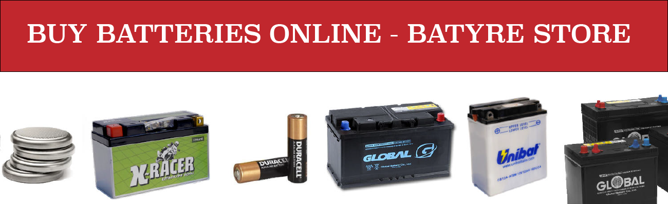 Batyre online batteries Belfast Northern Ireland