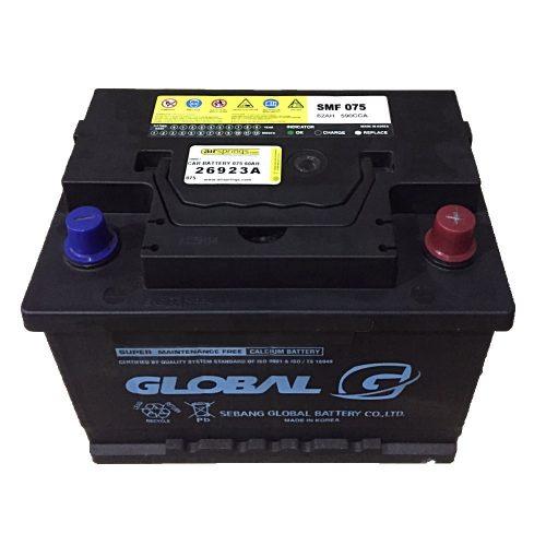 Global SMF 075 battery