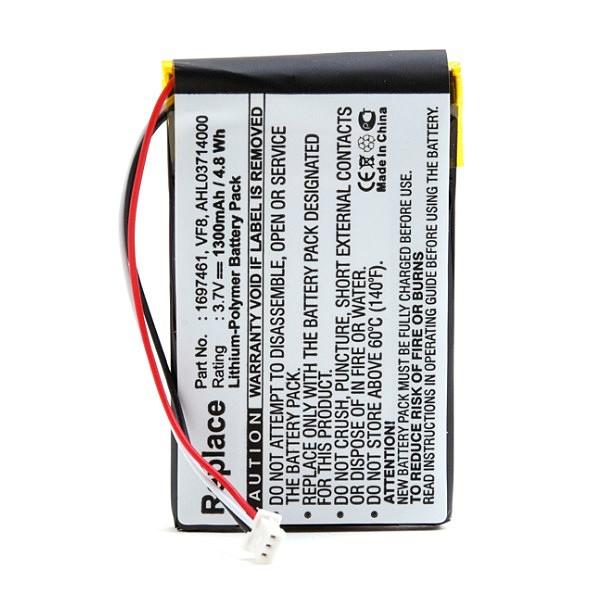 GPS Tom Tom Go battery 3.7V 1300mAh - B41075S - GPS9015