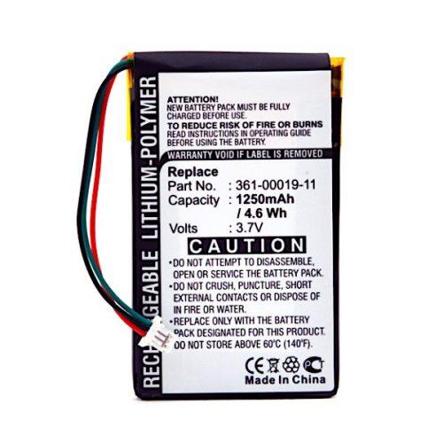 GPS Garmin battery 3.7V 1250mAh - Nüvi - B41076S - GPS9018