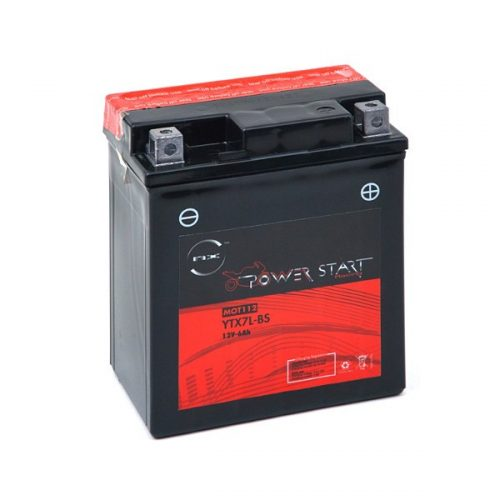 Maintenance free Motorcycle battery YTX7L-BS / GTX7L-BS - B21081S - MOT112-G
