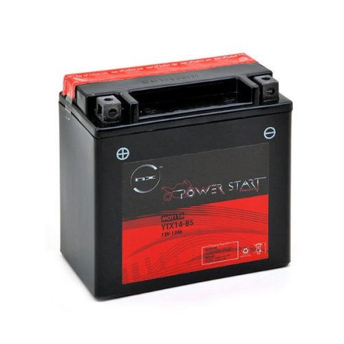 Aprilia motorcycle battery YTX14-BS 12V 12Ah B21079S - MOT116-G