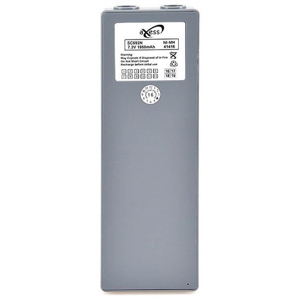 Scanreco crane remote control battery 7.2V 2000mAh - B31019S - RMH0670