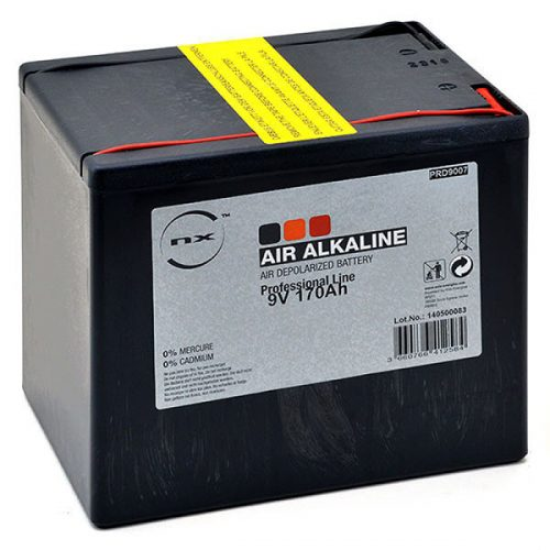 Alkaline air depolarised battery 9V 170Ah - B31035S - PRD9007